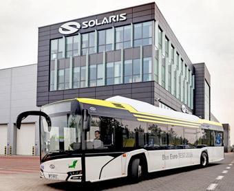 Solaris Urbino 12 Electric ska rulla i de tysa städerna Nürnberg och Fürth. Foto: Solaris.