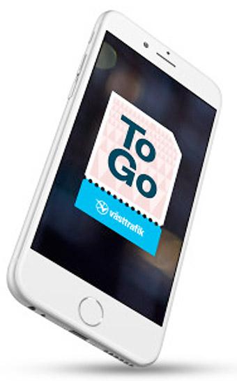 Västtrafiks kunder kan nu få förseningsersättningar rätt in i Västtrafiks app.