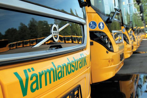 Värmlandstrafik är ett av många länstrafikbolag som bryter mot lagen när det gäller resenärers rättigheter. Foto: Värmlandstrafik.