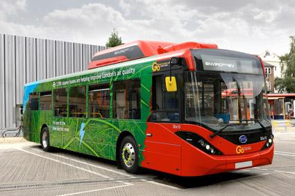 BYD ADL Enviro 200 batteribuss på 10,8 meter. Tidigare i år beställde Go-Ahead Group 14 busar till London, nu följer RATP Dev efter med 36. Foto: ADL