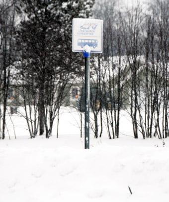 Vinterväghållningen skapar ofta särskild problem. Foto: Ulo  aasin g.