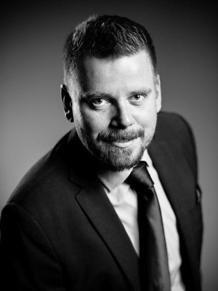 Nöjd vd för Flexbuss Sverige, David Lindquist.
