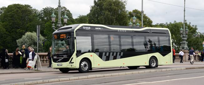 Nyttan med elbussar är stor när det gäller bujllerpåverkan på människors hälsa och välbefinnande, konstaterr en ny undersökning som har gjorts på uppdrag av Göteborgs stad. Foto: Ulo Maasing.