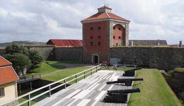 Nya Älvsborgs fästning. Foto: Wikimedia Commons/Artemis.