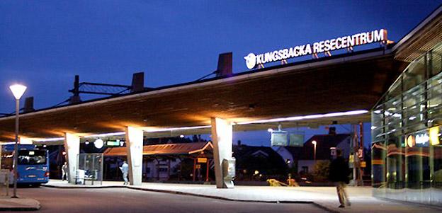 Kungsbacka resecentrum. Foto: Kungsbacka kommun.