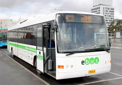 Linkkers elbussar rullar i bland annat Helsingfors och Köpenhamn. Foto:Linkker.