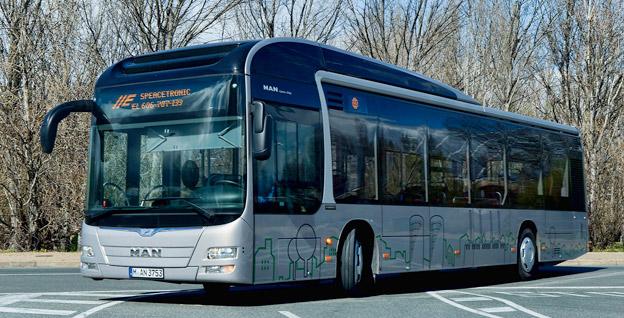 MAN utvecklar framtidens hybridbuss inom ramen för ett EU-projekt. Foto:MAN.