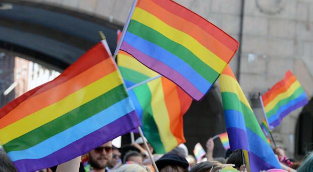 För femte året i rad deltar Flygbussarna och Nobina i Stockholm Pride –Skandinaviens största pridefestival och Sveriges största gaufest. Foto: Ulo Maasing.