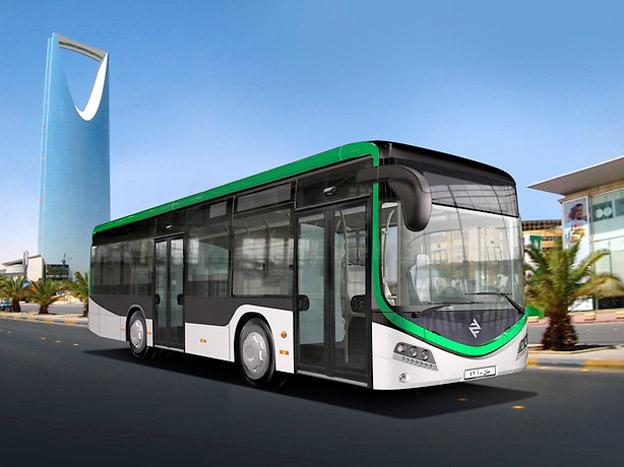 MAN ska leverera 242 bussar till Saudiarabiens huvudstad. Foto: MAN.