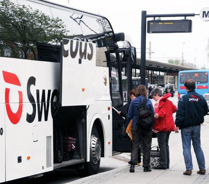 Swebus får den lägsta noteringen av de bussföretag som har mätts i Svenskt Kvalitetsindex. Foto: Ulo Maasing.