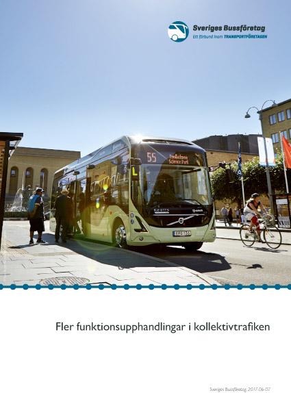 Sveriges Bussföretag har publicerat årets rapport om den upphandlade kollektivtrafiken. Den visar att fördubblingen är allt mer avlägsen och att kostnaderna för trafiken fortsätter att skena.
