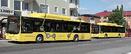 Allt fler reser med lokaltrafiken i BNoden. Foto: Bodens kommun.