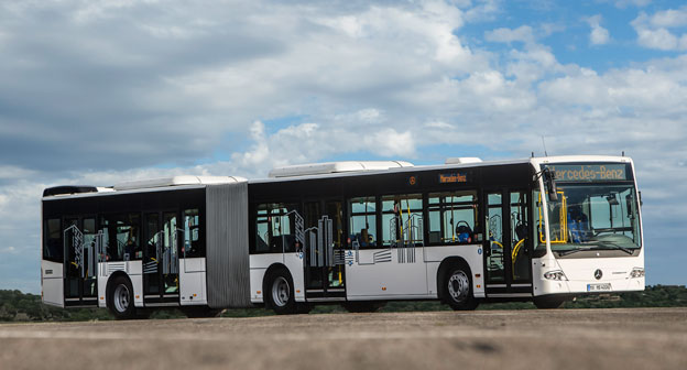 En av de order som Dimler Buses fick under andra kvartalet avsåpg 80 Mercedes-Benz Conecto ledbussar till Warszawa. Foto: Daimler Buses.
