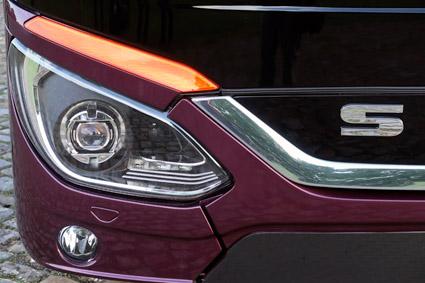 LED-strålkastare ger ett behagligare och mer dagsljusliknande sken. Foto: Ulo Maasing.