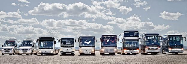 Daimler Buses satsar på att arbeta tillsammans med unga startup-företag för att skapa nya kollektivtrafikläsningar. Foto: Daimler Buses.