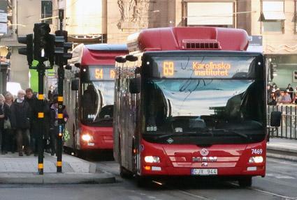 Minskat bilägande, mer kombinerad mobilitet tror Stockholmarna på. Foto: Ulo Maasing.