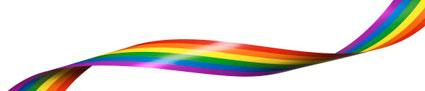 Flybussarna deltar även i år i Prideparaden i Stockholm –och har lagt till en lila linje i sin logga. Bild: Flygbussarna.