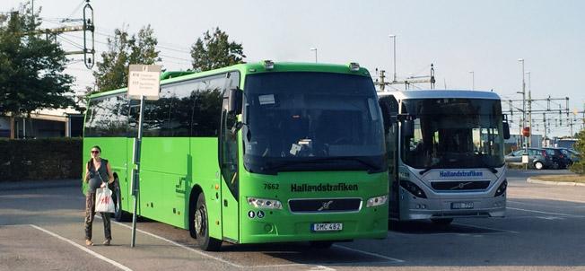 Hallandstrafikens försäljning av sommarkort slår nytt rekord. Foto: Ulo Maasing.