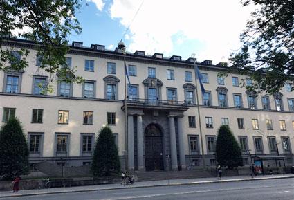 Handelshögskolan i Stockholm fylls i augusti av kollektivtrafikforskare från hela världen. Foto: Ulo Maasing.
