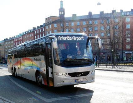 Den kommersiella trafiken inom Transdev Sverige drivs av dotterbolaget Merresor där bland annat Flygbussarna ingår. Merresor visar en stark lönsamhet. Foto: Ulo Maasing.