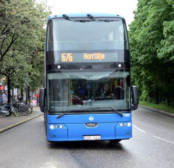 Brist på förare orsakar stora problem för busstrafiken i Norrtäljeområdet. Foto: Ulo Maasing.