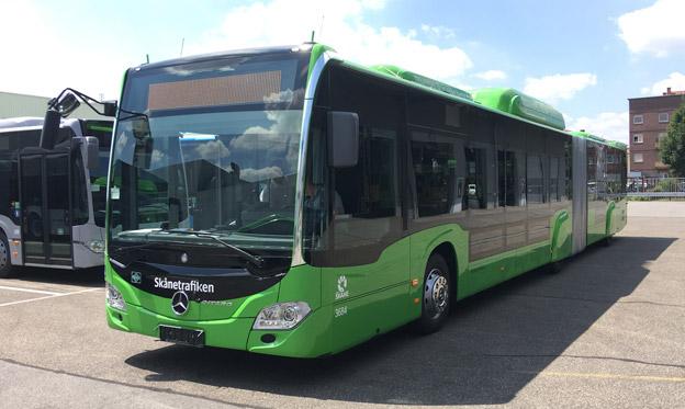 I augusti ska 68 nya Mercedes-Benz Citaro gasbussar sättas i trafik av Nobina i Malmö. Bussarna är både 12-meters normalbussar och 18-meters ledbussar, samtliga med låggolv.