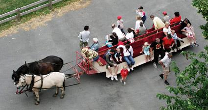 Remmalagen på Visingsö får sällskap av elbussar från september nästa år. Foto: Xauxa/Wikimedia Commons.