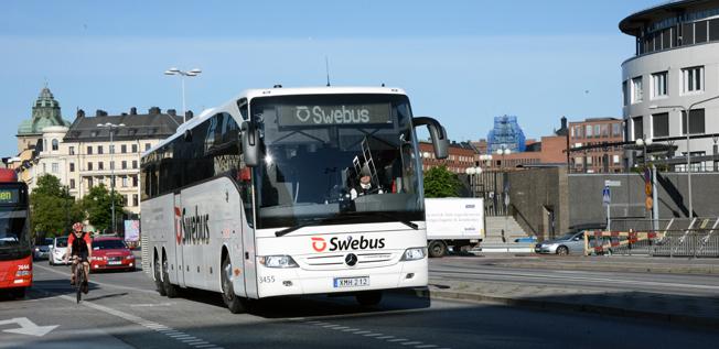 Nobina ska kintegrera Swebus i sin övriga verksamhet. Foto: Ulo Maasing.