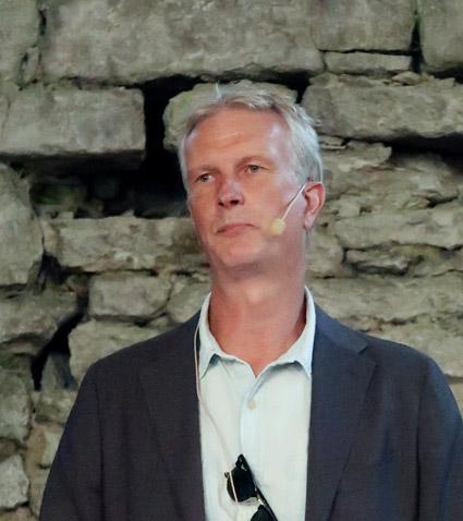 """Gunnar Schön, vd fr Transdev Sverige: """"Det kommer appar och nya lösningar från unga företag som inte kommer från branschen. Det ska vi omfamna."""""""