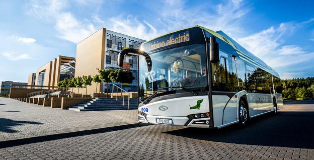 Warszawa köper fler elbussar från Solaris. Foto: Solaris.