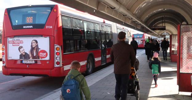 Nobina och Telia har registrerat resenärernas rörelsemönsrter på Södertörn. Informationen har varit anonym, men Datainspektionen är kritisk. Foto: Ulo Maasing.