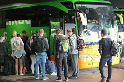 FlixBus har i sommar haft avsevärt många fler resenärer än förra sommaren. Foto: FlixBus.