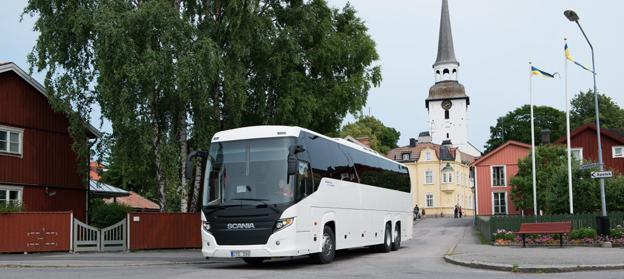 Användningen av HVOi transportsektorn ökar snabbt. I bussbranschen är HVO det vanligaste fossilfria drivmedlet. Foto: Scania.