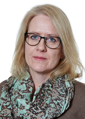 """Harriet Söder, vd fr Länstrafiken i Västerbotten: """"Vi måste få människor att förstå allvaret."""" Foto: Länstrafiken i Västerbotten."""