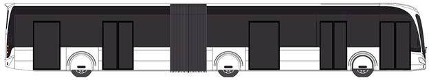 Irizars eldrivna ledbuss visas i verkligheten på Busworld.
