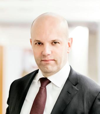 Matthias Dahl, vd för Tranasportföretagen: Glädjande siffror. Foto: Matthias Sandberg.