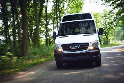 VDL introducerar nu en 8-meters batteribuss, MidCity Electric. Foto: VDL.