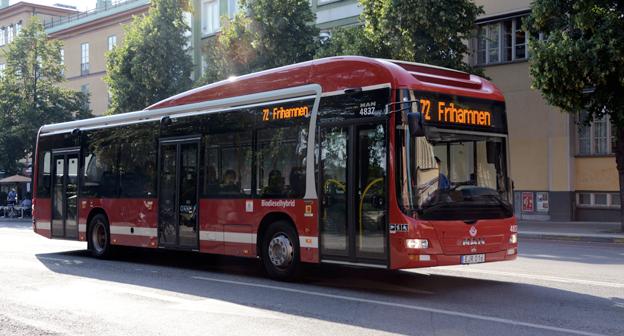 Kollektivtrafiken är bäst på att minska klimatpåverkan i Stockholms läns landsting. Foto: Ulo Maasing.