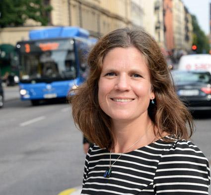 Nanna Wikhjolm är projektledare för Klimatklivet vid Naturvårdsverket. Nu finns det 1,2 miljarder att söka för bland annat företag för lokala klimatåtgärder. Foto: Ulo MAasing.