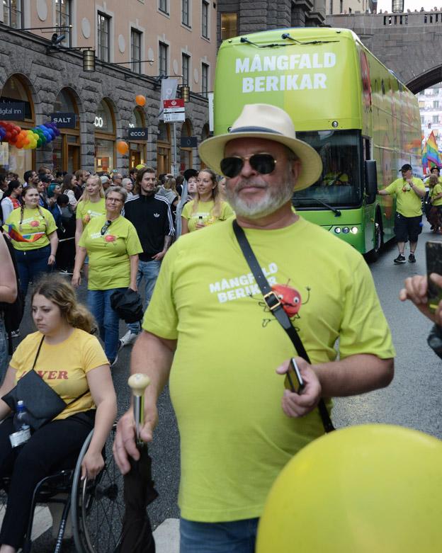 Mångfald berikar var temat för Nobinas deltagande i Pride.
