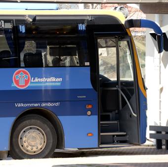 Länstrafiken i Västerbotten räknar med att realtidsinformationen till resenärerna ska fungera i höst – åtta år försenad. Foto: Ulo Maasing.
