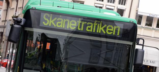 Ökat resande gör att Skånetrafikens budgetmiss minskar. Foto: Ulo Maasing.