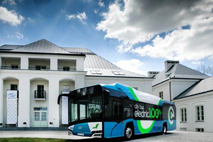 Solaris har fortsatta internationella framgångar med sina batteribussar. Bild: Solaris.