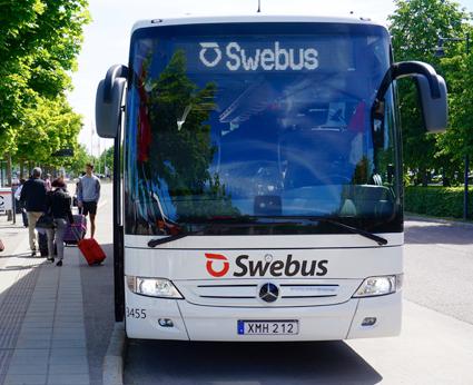 Swebus vässar expressbussfighten i väst.Foto: Swebus.