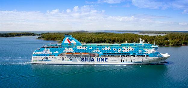 Alridg tidigare har så många rest med Talljnks och Siljas fartyg som under juli i år. Foto: Tallink Grupp.