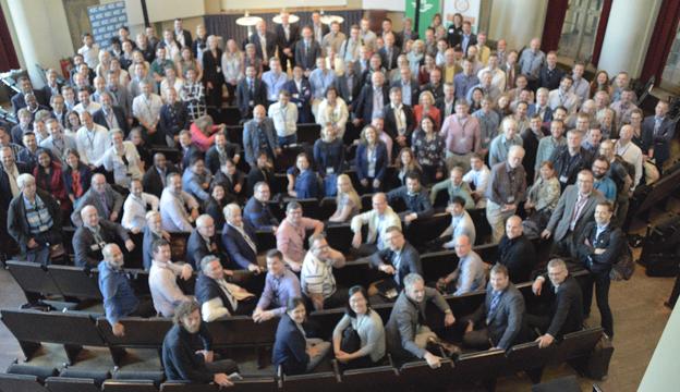 200 delegater från 31 länder deltar i forskarkonferensen Thredbo 15 i Stockholm. Foto: Ulo Maasing.