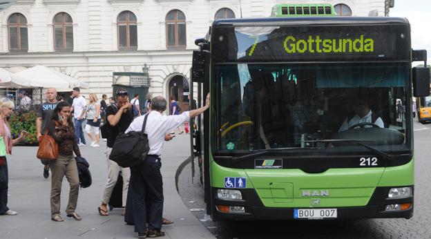 Region Uppsala spräcker sitt mål om fossilfri busstrafik med råge. Foto: Ulo Maasing.