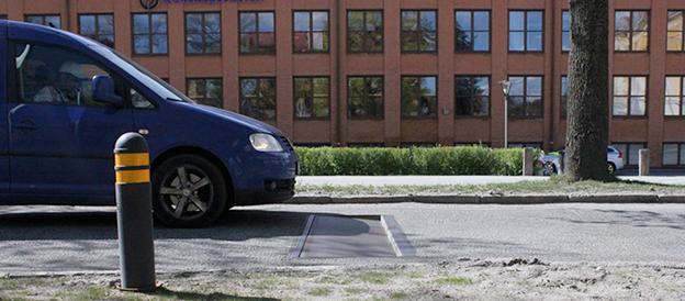 Ingen vägbula, utom för den som kör för fort. Foto: Edeva.