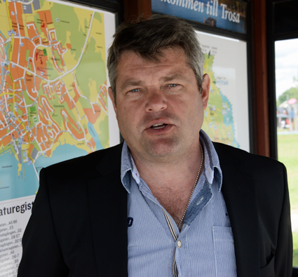 Per Åkerberg, ordförande i Stockholms läns bussbranschförening. Foto: Ulo Maasing.