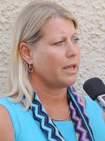 Ansvarig minister när Transportstyrelsen började göra avsteg från IT-säkerheten var Catharina Elmsäter - Svärd. Foto: Ulo Maasing.